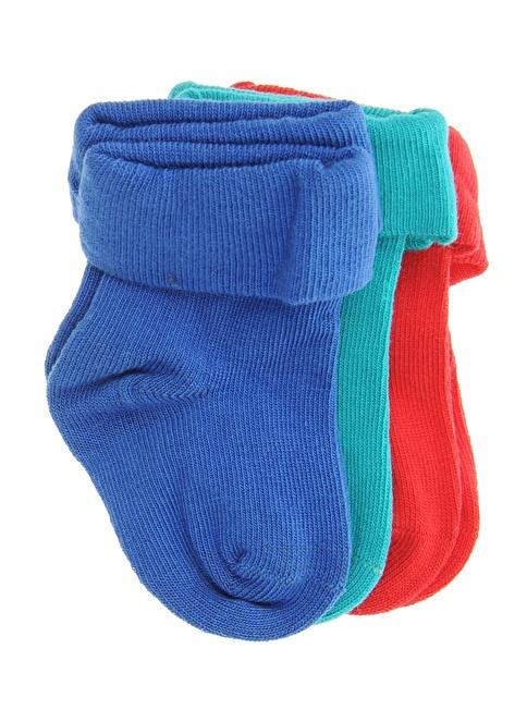 Soo be 3'lü Çorap Mavi
